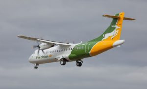 ATR-42-600 of Precision Air Services, Tanzania