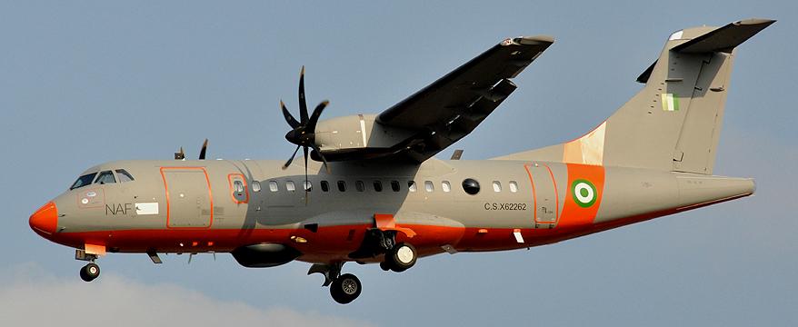 Premier vol du ATR 42-500MP Patrol Aircraft de la Force aérienne nigériane, 2009