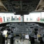 Cockpit of this Dash-8 for Sale. The world's most modern turboprop.