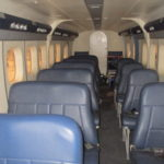 Cabin of this De Havilland DHC-6-300 Twin Otter