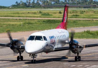 Embraer EMB-120 de Mocambique Expresso, C9-MEI. Beira, 2007